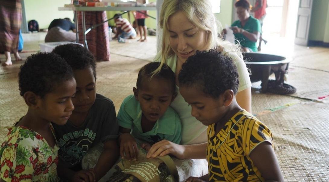 Brooke H in Fiji